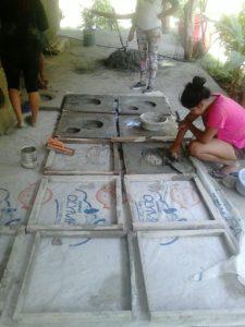 Bau der Kochfelder